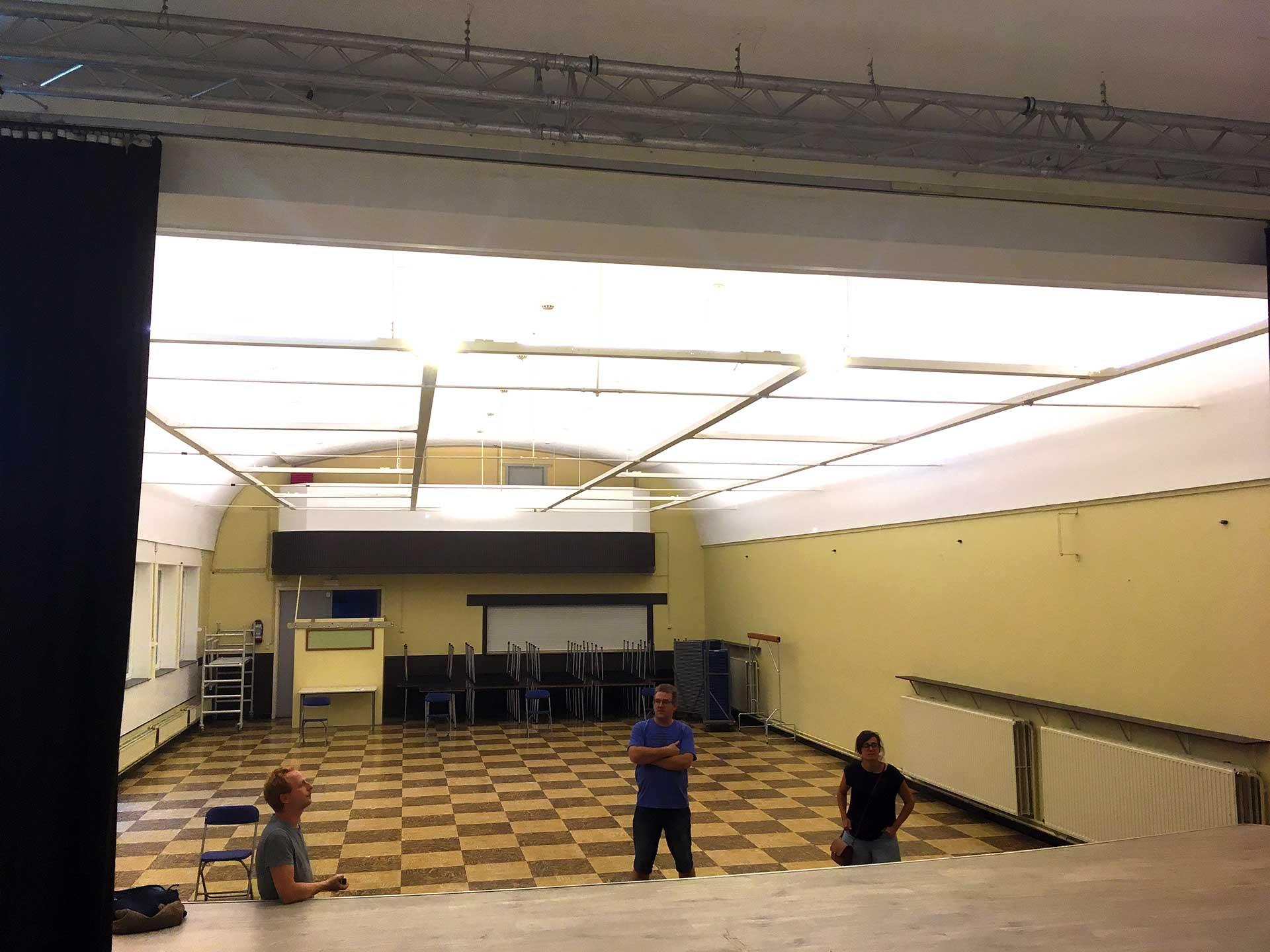 De grote zaal — zaalverhuur De Baronie in Battel, Mechelen